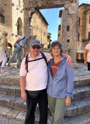 Jeff and Susan in Italy